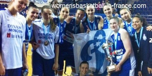 Dynamo Moscow 2014 EuroCup women winners