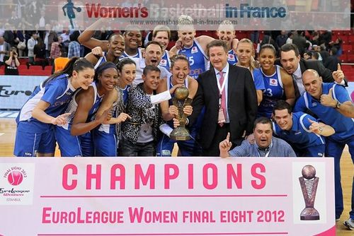 2012 EuroLeague Women Winners Ros Casares