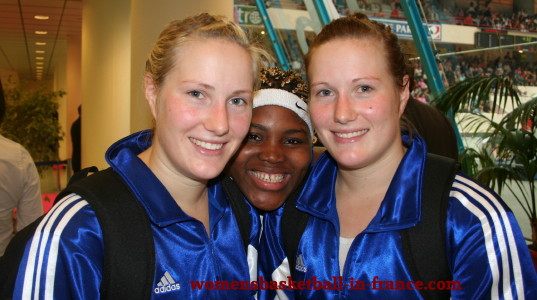 Frida Eldebrink, Isabella Yacoubou and