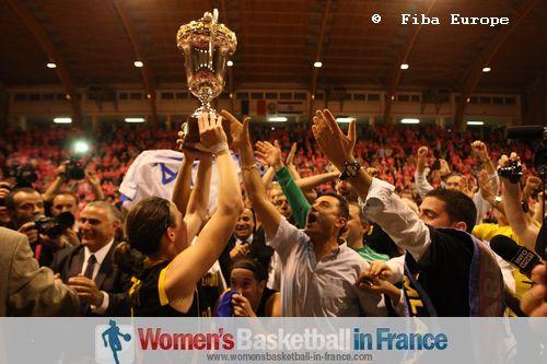 2011 EuroCup Women winners - Elitzur Ramla  ©  FIBA Europe