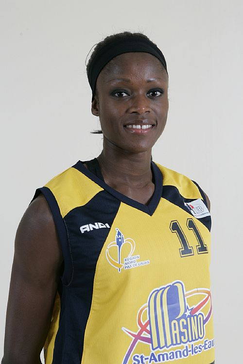 Emilie Gomis comes back to ESBVA-LM after 3 year absense © Ligue Féminine de BasketBall