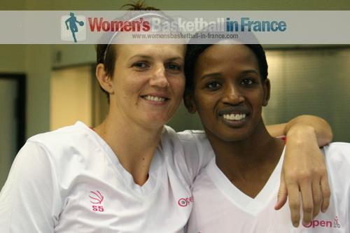 Emilija Podrug and Mame-Marie Sy-Diop Lyon Basket