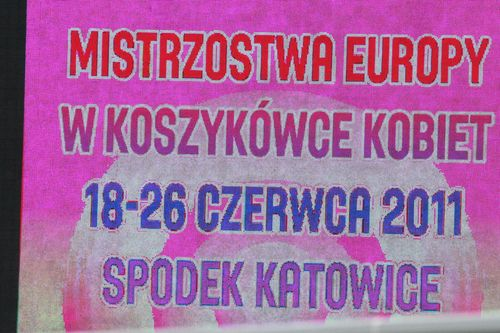 Eurobasket 2011 bill board in katowice