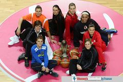 2013 EuroLeague Women captains picture