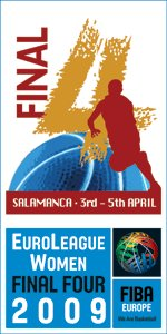 EuroLeague Women 2009 final four poster ©   FIBA Europe