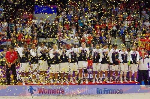 USA 2010 FIBA World Champions © womensbasketball-in-france.com