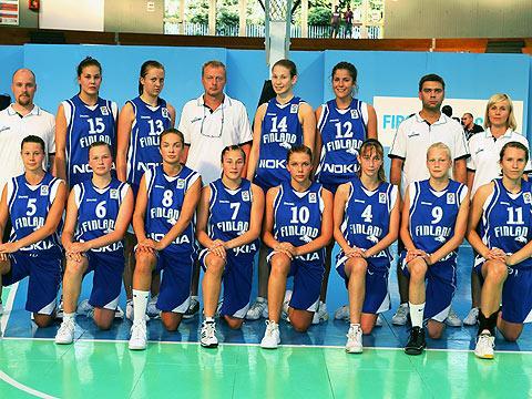 Finland U16 team picture © Ciamillo-Castoria