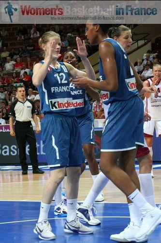 Florence Lepron and Sandrine Gruda width=