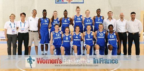 France U18 basketball team 2013