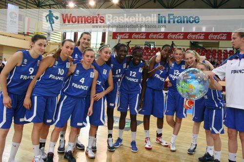 France U16  in Miskolc © womensbasketball-in-france.com