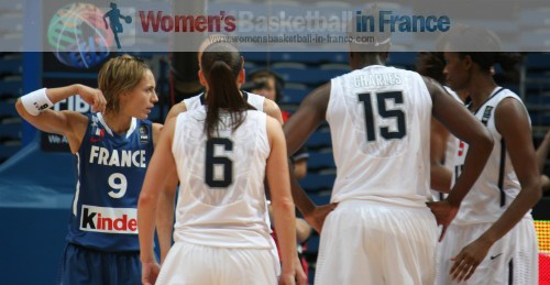 France - USA: the 2010 World Championship women © womensbasketball-in-france.com