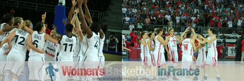2012 FIBA Olympic Qualifying Tournament for Women: France and Turkey qualify for 2012 Olympic games ©  womensbasketball-in-france.com