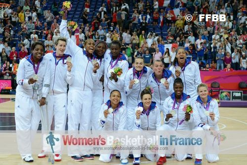 France Women at the 2012 Olympic games