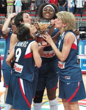 Cathy Melain and France are the European Champions    © Miguel Bordoy Cano