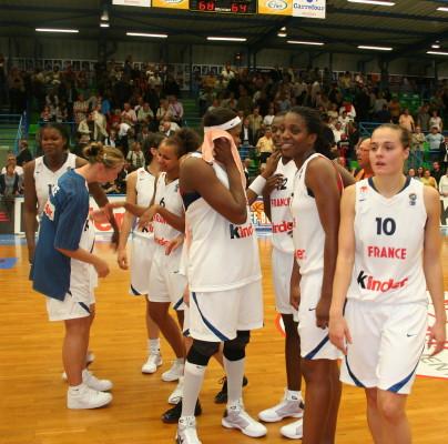 France qualify for Eurobasket women 2009