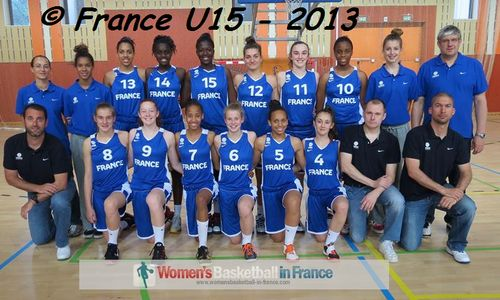 Fabien Frydryszak, : Romain Leroy and  Olivier Jordy with France U15 at Mulhouse 2013
