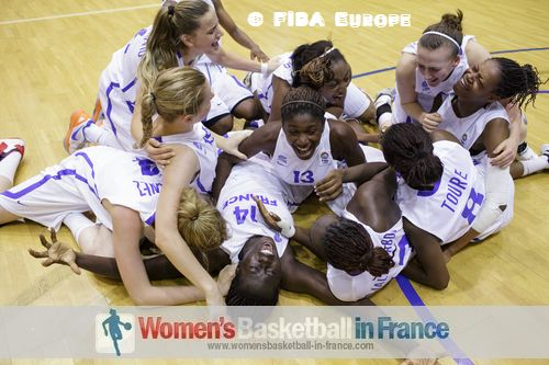 France U18 players the at the FIBA Europe 2012 U18 European Championship final © FIBA Europe