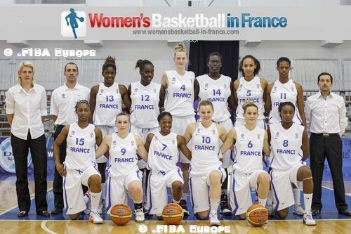 France U18 2012 official  team  picture  © .FIBA Europe