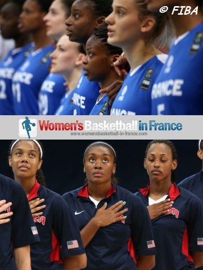 2013  U19 FIBA World Championship for Women - France and USA