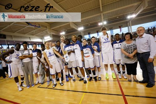 France U19 basketball team 2013