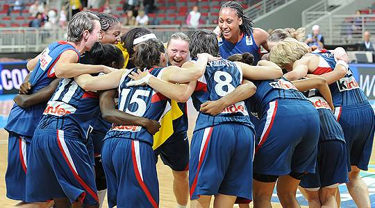 France qualify for EuroBasket women 2009 © Agenzia Ciamillo-Castoria/E.Castoria