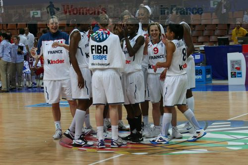 French Players at EuroBasket Women