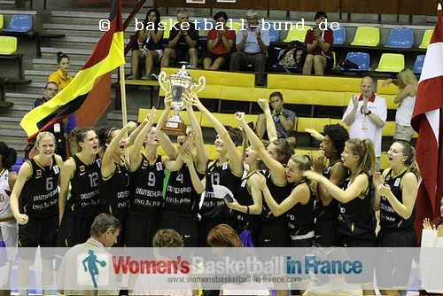 Germany U16 - 2011 FIBA Europe Division B champions  ©  basketball-bund.de
