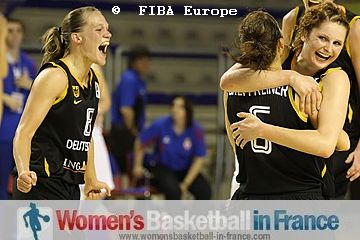Germany qualify for Eurobasket Women AQT play-off  © FIBA Europe