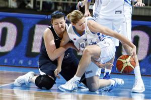 Evanthia Maltsi playing for Greece at EuroBasket Women 2009 © Agenzia Ciamillo-Castoria/E.Castoria