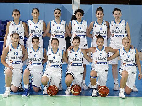 Greece U16 2009 team picture © Ciamillo-Castoria