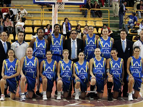 Perfumerías (Halcon) Avenida 2008-2009 ©   FIBA Europe