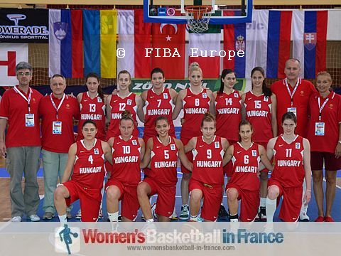 Hungary U18 - 2011   © FIBA Europe