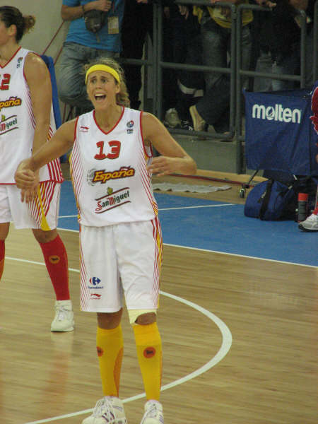 EuroBasket 2007 MVP Amaya Valdemoro