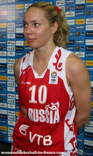 Ilona Korstin at EuroBasket Women 2009 © womensbasketball-in-france