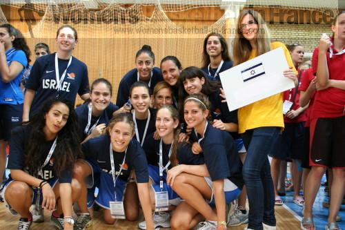 Israel U20 in Macedonia © womensbasketball-in-france.com