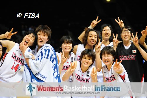 Japan quailfy for U19 World Championship for Women quarter-finals