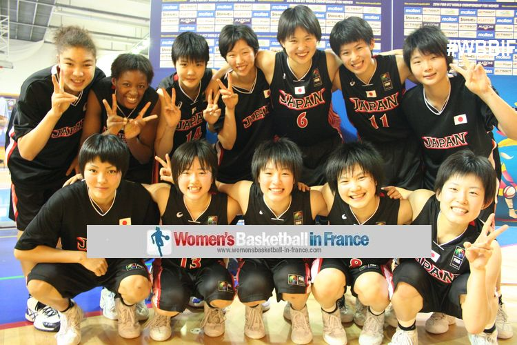 Japan players at the end of the U17 World Championships in Pilsen