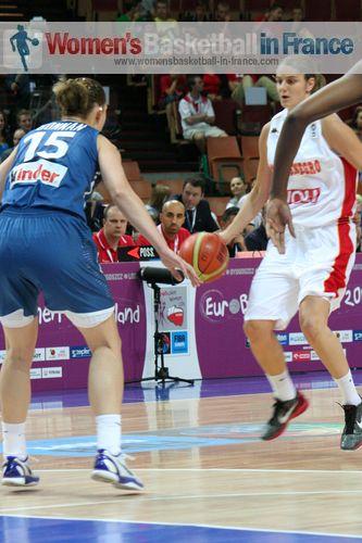 Jelena Dubljevic facing Aurelie Bonnan