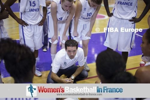 Jérôme Fournier at time-out © FIBA Europe