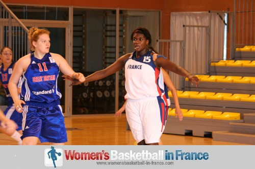 Basketball pictures from temple-sur-lot 2011: France U20 vs Great BritainU20