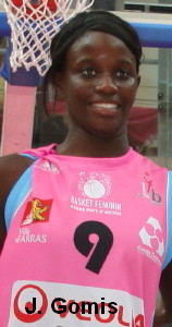 Johanne Gomis © womensbasketball-in-france.com