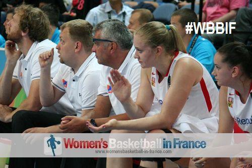 2014 u17 world Julia Reisingerova watching from the bench
