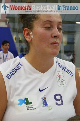 Julie Barennes  © womensbasketball-in-france.com