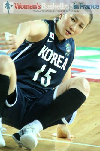 Jung-Ja Si ©  womensbasketball-in-france.com
