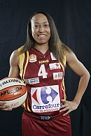 K. B. Sharp © Ligue Féminine de BasketBall