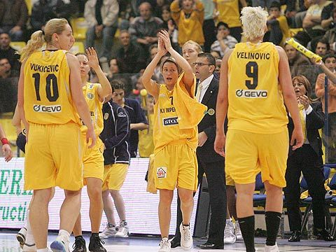 Euro Cup Women Victory for K.V. Imperial AEL ©  FIBA Europe