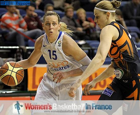 Katie Douglas and Cathy Joens  © FIBA Europe