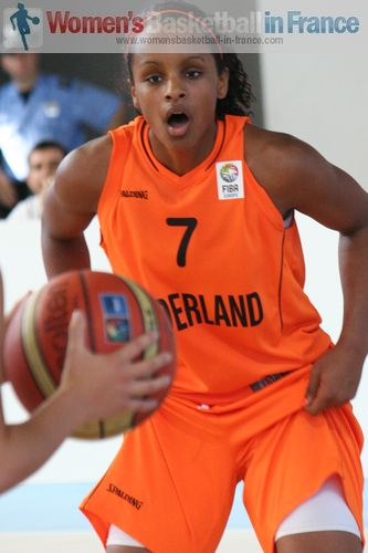Kourtney Treffers © womensbasketball-in-france.com