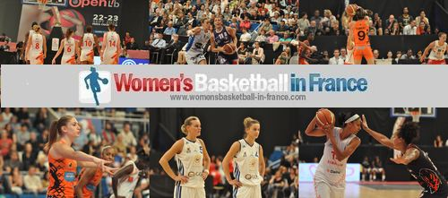 playing basketball in the Ligue Féminine de Basket