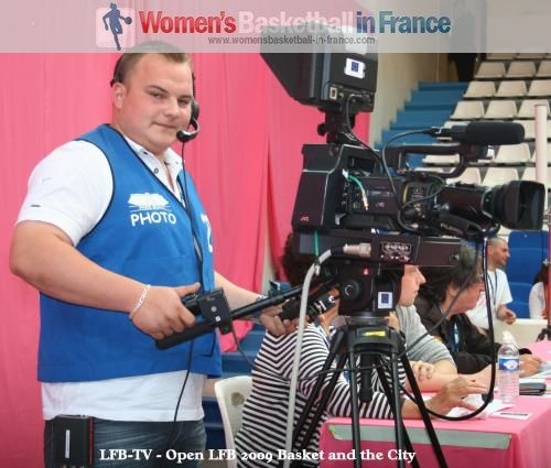 LFB TV at Basket and the City 5  © womensbasketball-in-france.com